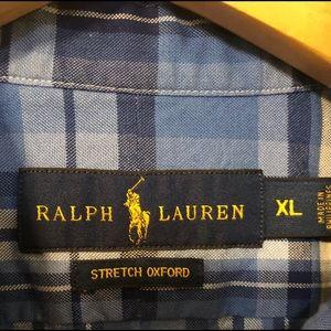 Polo Plaid Button Down shirt